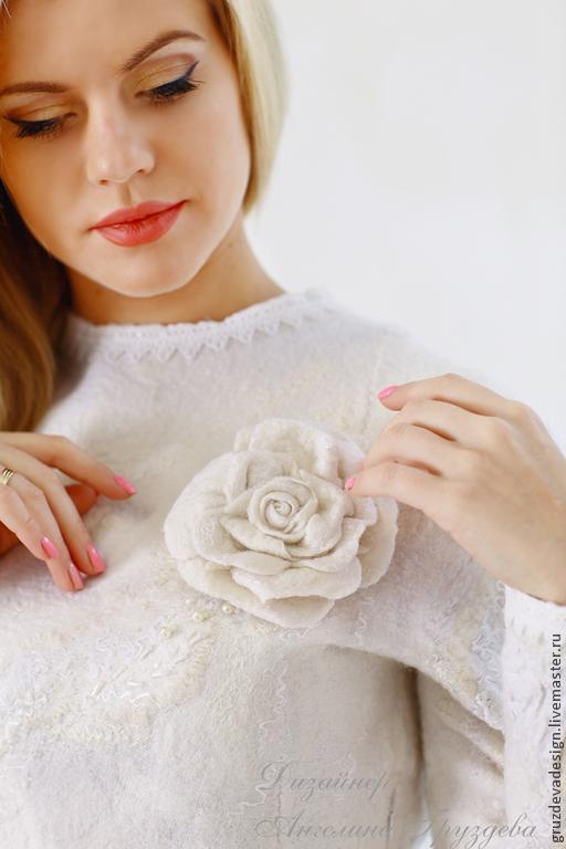 Юбка роза