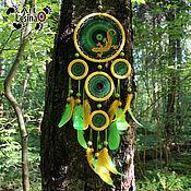 """Фен-шуй и эзотерика handmade. Livemaster - original item Тотемный ловец снов """"Джунгли"""", 80 см. Handmade."""