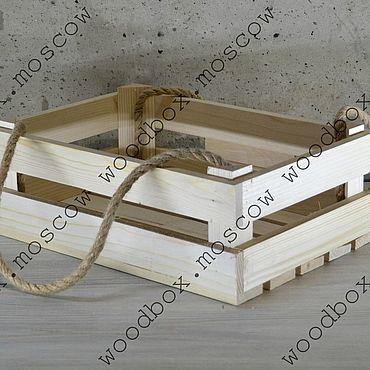 Материалы для творчества ручной работы. Ярмарка Мастеров - ручная работа Реечный ящик. Handmade.