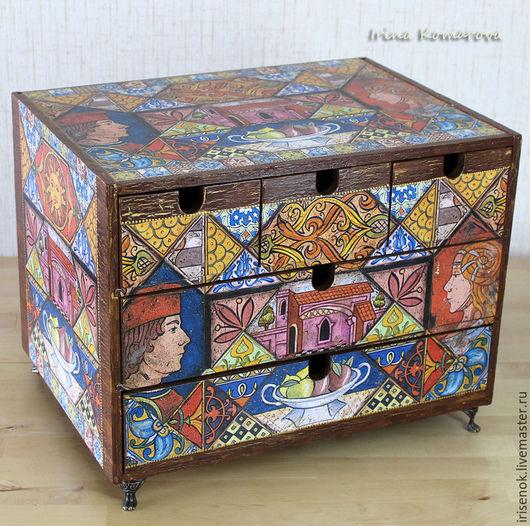 Small Drawers handmade. Livemaster - handmade. Buy 'Romeo and Juliet', mini chest of drawers.favorite gift