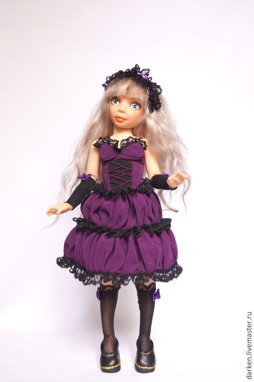 Коллекционные куклы ручной работы. Ярмарка Мастеров - ручная работа. Купить Шарнирная кукла Лера. Handmade. Разноцветный, авторская шарнирка