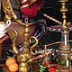 Коллекционные куклы ручной работы. Султан(Ответ запорожцам). Александр Иванов (alexander294). Ярмарка Мастеров. Письмо, ткань, искусственный мех