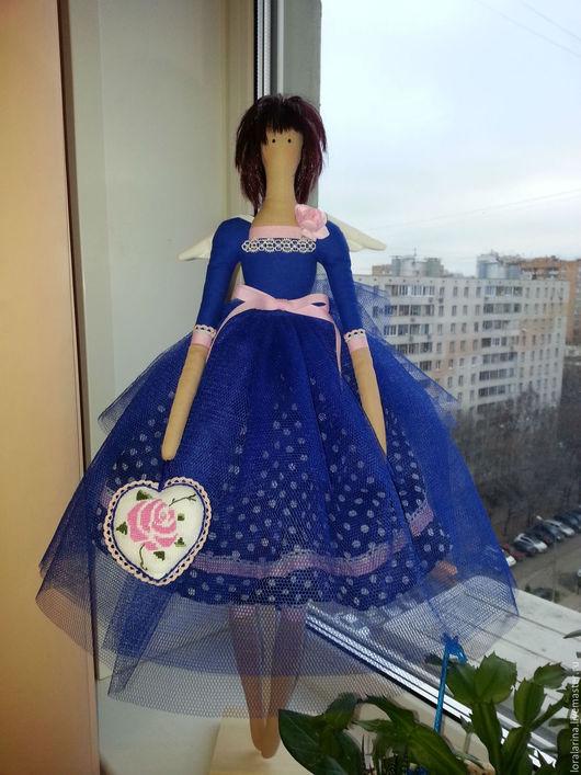 Куклы Тильды ручной работы. Ярмарка Мастеров - ручная работа. Купить Интерьерная кукла. Handmade. лазурит, кукла, Снежана, кукла интерьерная.