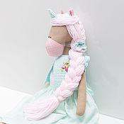 Куклы и игрушки ручной работы. Ярмарка Мастеров - ручная работа Единорог мятный. Handmade.