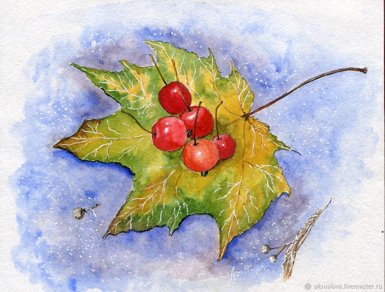Дикие яблочки, Картины, Москва,  Фото №1
