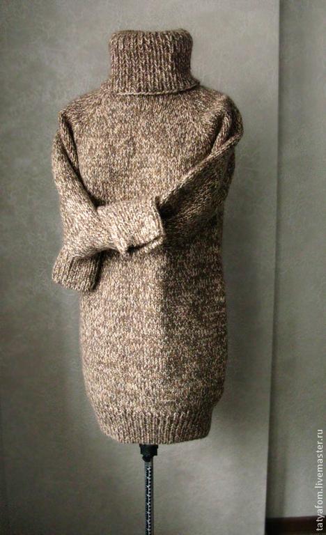 """Кофты и свитера ручной работы. Ярмарка Мастеров - ручная работа. Купить Унисекс свитер """"Печка"""". Handmade. Свитер, балахон, вязание"""