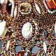 А это фрагмент колье замечательного мастера Татьяны Якищик, где использована камея моей работы. Правда, красотища? :)