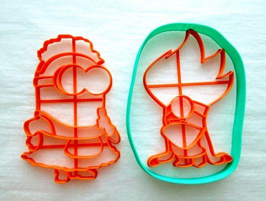 Кухня ручной работы. Ярмарка Мастеров - ручная работа. Купить Миньоны 2 - вырубка для печенья, пряников, мастики. Handmade. Комбинированный