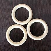 Материалы для творчества handmade. Livemaster - original item Ring for tying wooden ,unpainted 50 mm. Handmade.