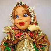 Для дома и интерьера ручной работы. Ярмарка Мастеров - ручная работа Кукла - пакетница Любаша. Handmade.