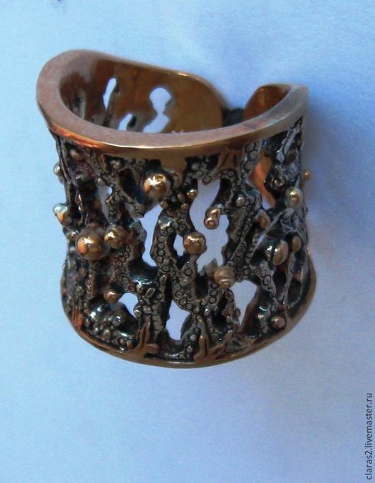 Кольца ручной работы. Ярмарка Мастеров - ручная работа. Купить Кольцо Морская тема  из серебра. Handmade. Серебряный, необычное кольцо