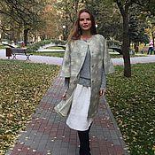 """Одежда ручной работы. Ярмарка Мастеров - ручная работа Пальто """" сНежное"""". Handmade."""