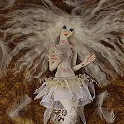 Куклы и игрушки ручной работы. Ярмарка Мастеров - ручная работа Белая Птица (фарфоровая шарнирная кукла).. Handmade.