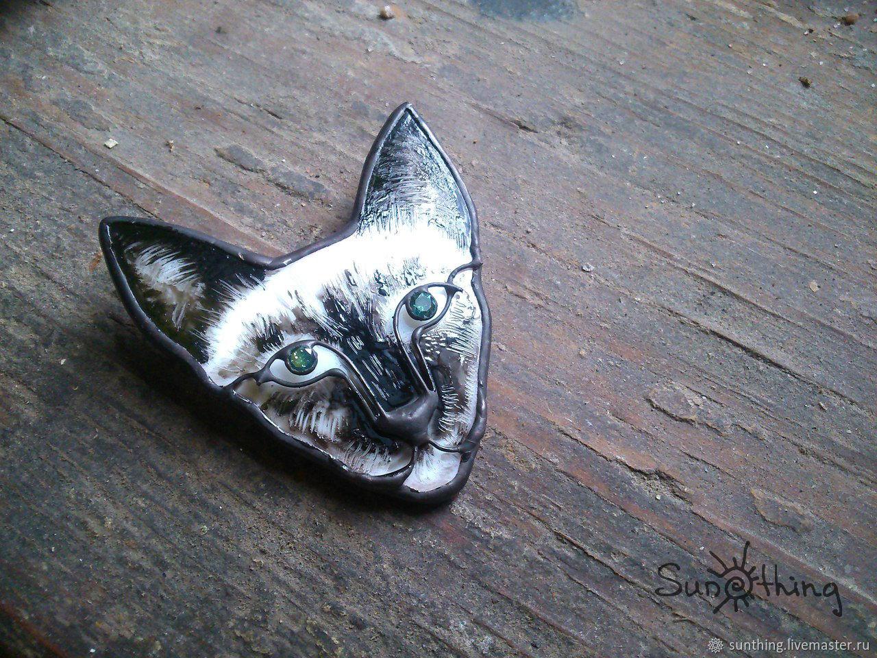 CAT brooch, Brooches, St. Petersburg,  Фото №1