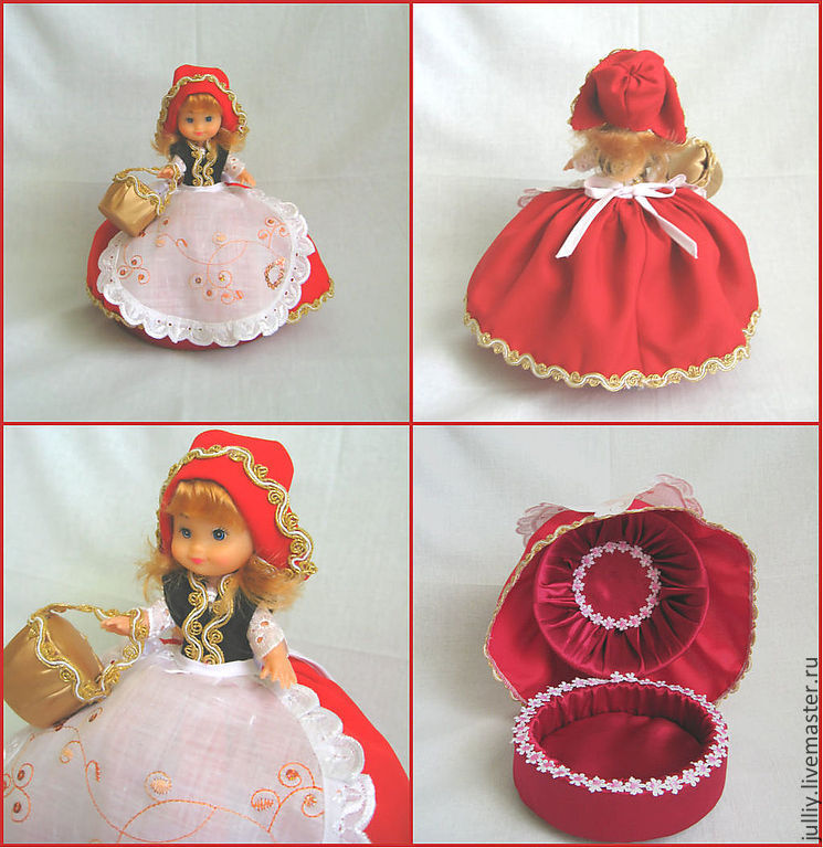 Куклы шкатулки своими руками от мастериц