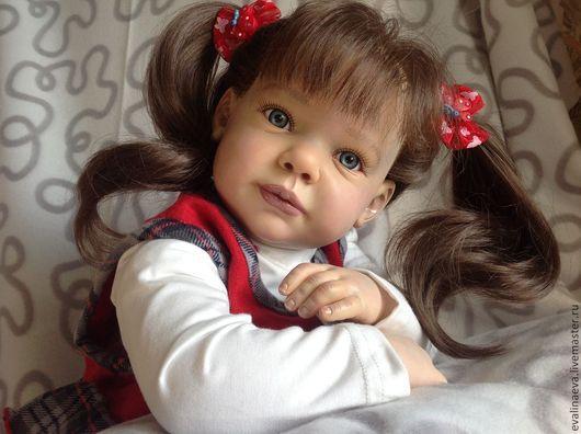 Куклы-младенцы и reborn ручной работы. Ярмарка Мастеров - ручная работа. Купить Кукла-реборн Келли.. Handmade. Ярко-красный