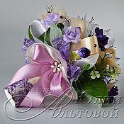 Свадебный салон ручной работы. Ярмарка Мастеров - ручная работа Букет-дублёр фиолетовый с лиловым. Handmade.