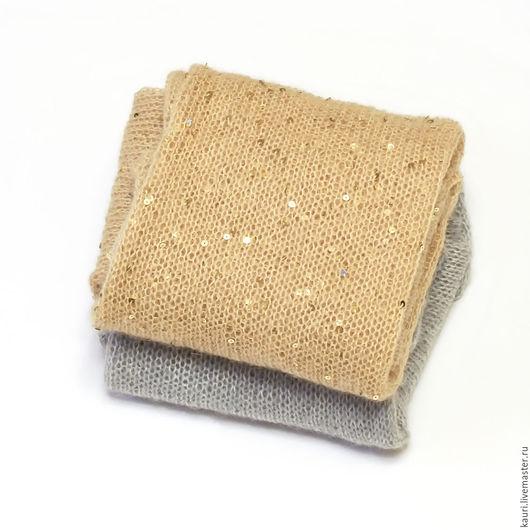 Кофты и свитера ручной работы. Ярмарка Мастеров - ручная работа. Купить Модные пуловеры из кид-мохера  Золото и Серебро. Handmade.