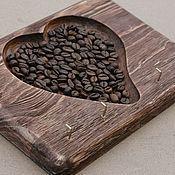 Для дома и интерьера ручной работы. Ярмарка Мастеров - ручная работа Ключница деревянная с кофе, в ассортименте.. Handmade.