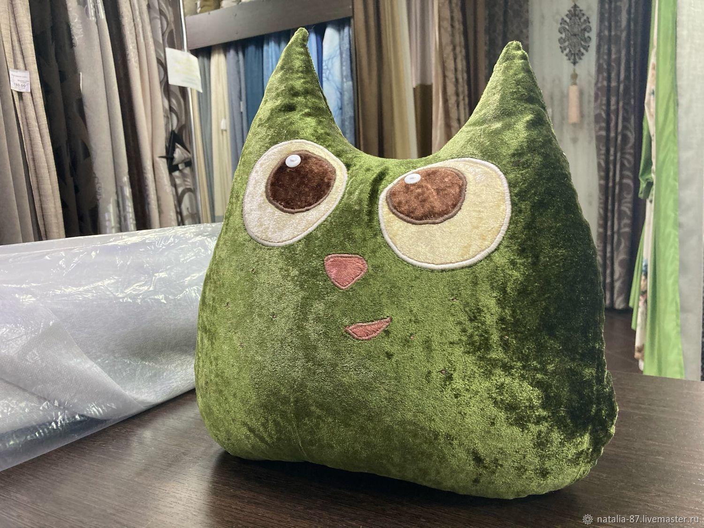 Зелёный кот, Подушки, Алатырь,  Фото №1