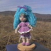 Куклы и игрушки ручной работы. Ярмарка Мастеров - ручная работа Куколка Малвина. Handmade.