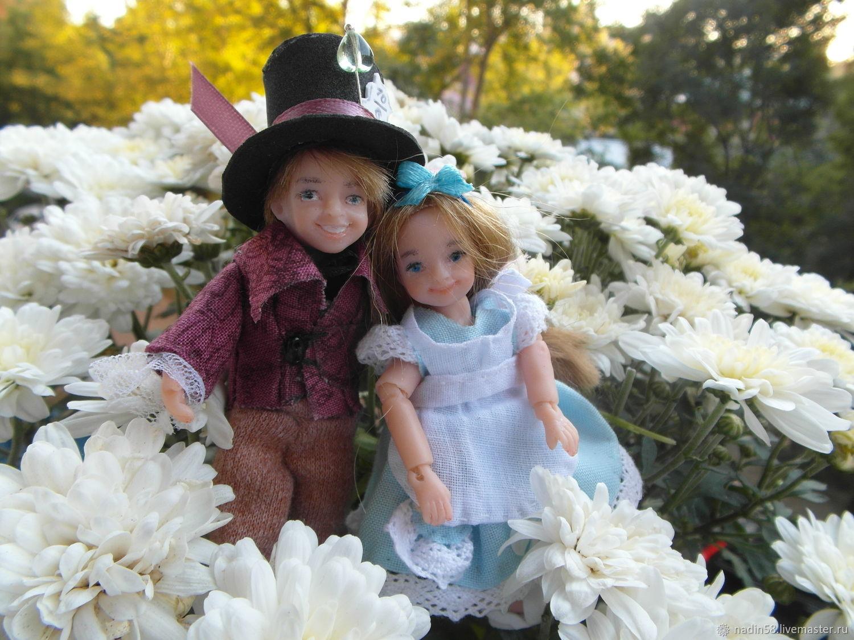 Шляпник шарнирная кукла, Коллекционные куклы, Пенза, Фото №1