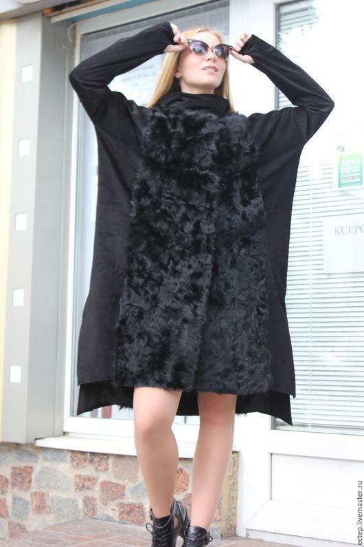 """Верхняя одежда ручной работы. Ярмарка Мастеров - ручная работа. Купить Меховое пальто """"Готика"""". Handmade. Куртка меховая"""