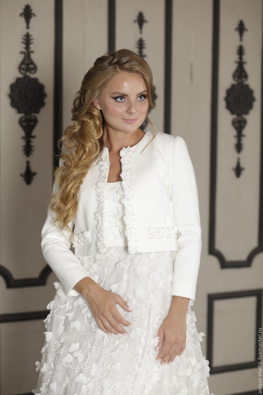 Winter jacket, Bridal jacket, Bridal cape, Wedding jacket, Diana ...