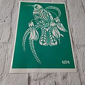 Материалы для творчества handmade. Livemaster - original item 6274 adhesive-based Stencil reusable. Handmade.