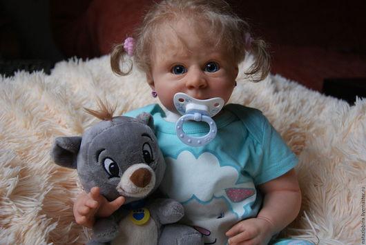 Куклы-младенцы и reborn ручной работы. Ярмарка Мастеров - ручная работа. Купить кукла реборн Ангелина(из молда руби 3). Handmade.