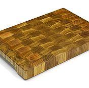 Для дома и интерьера handmade. Livemaster - original item End cutting Board №127. Handmade.