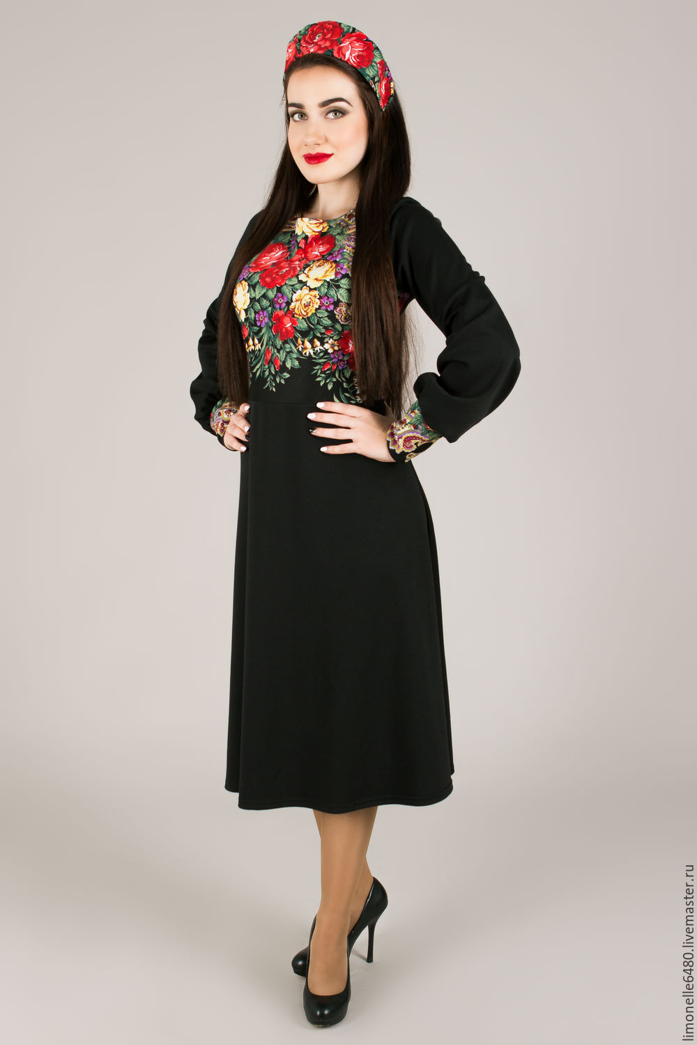 Dress with shawl black, Dresses, Rostov-on-Don,  Фото №1