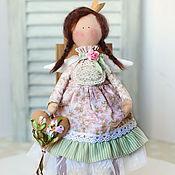 Куклы и игрушки ручной работы. Ярмарка Мастеров - ручная работа Принцесса Лили тильда ангел. Handmade.