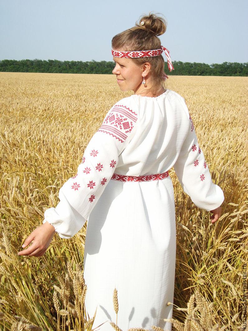 общем, древнеславянская одежда фото женская зоне другие