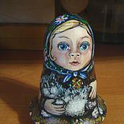 """Куклы и игрушки ручной работы. Ярмарка Мастеров - ручная работа Девочка """"Алёнушка"""" неваляшка. Handmade."""