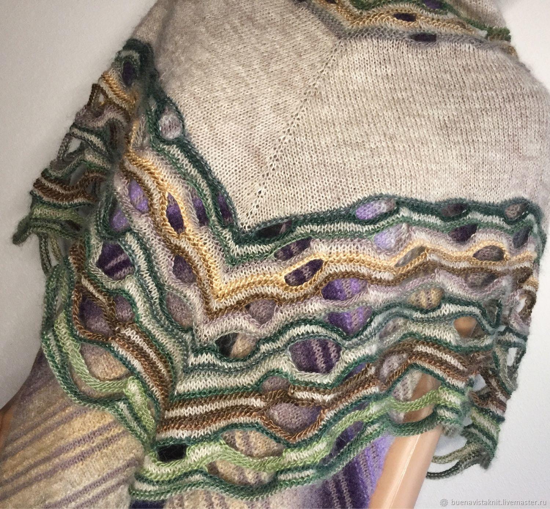 Shawls: Knitted shawl ' Palanga», Shawls1, Zelenograd,  Фото №1