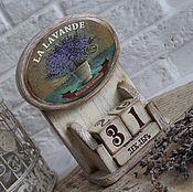 """Канцелярские товары ручной работы. Ярмарка Мастеров - ручная работа Календарь """"LA LAVANDE"""". Handmade."""