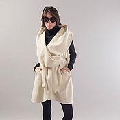 Одежда handmade. Livemaster - original item Frankie Brushed Vest/Extravagant Vest/Belted Vest by FloAtelier/F1841. Handmade.