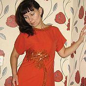 Одежда ручной работы. Ярмарка Мастеров - ручная работа Платье Кокетка. Handmade.