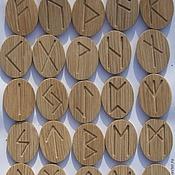 Фен-шуй и эзотерика ручной работы. Ярмарка Мастеров - ручная работа Скандинавские руны для гадания. Handmade.