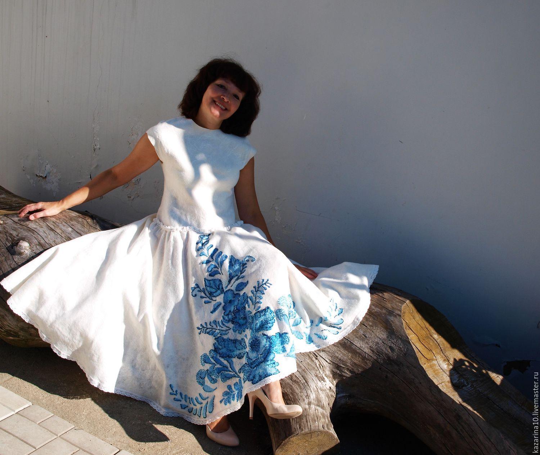 """Dress """"GZHEL"""", Dresses, Moscow,  Фото №1"""