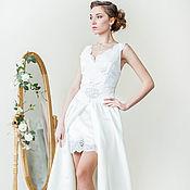 Свадебный салон handmade. Livemaster - original item Wedding Dress - Transformer. A short wedding dress.. Handmade.