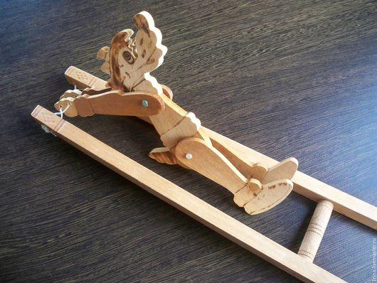 Винтажные куклы и игрушки. Ярмарка Мастеров - ручная работа. Купить Деревянная игрушка СССР. Handmade. Комбинированный, для детей, дерево