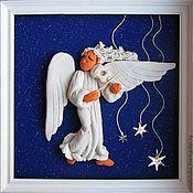 Картины с ангелами своими руками