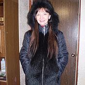 Одежда ручной работы. Ярмарка Мастеров - ручная работа Куртка с натуральным . мехом. Handmade.