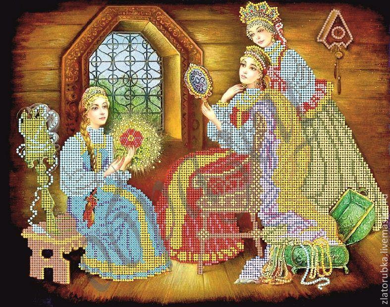 Вышивание бисером из сказок