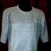 Одежда handmade. Livemaster - original item 100% linen.Men`s shirt