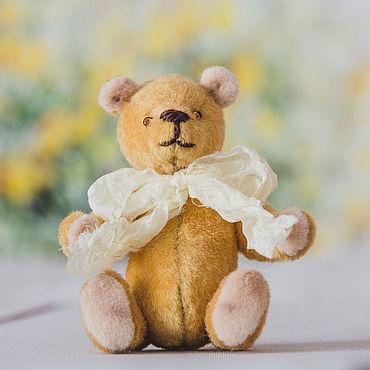 Куклы и игрушки ручной работы. Ярмарка Мастеров - ручная работа Мини-мишка тедди Егорка. Handmade.