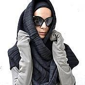 Аксессуары ручной работы. Ярмарка Мастеров - ручная работа Тёплая шаль. Handmade.