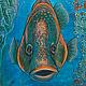 Картина 3D. Наполеон-рыба работа Разумовой Л.В.